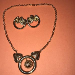 Necklace and earrings great condition